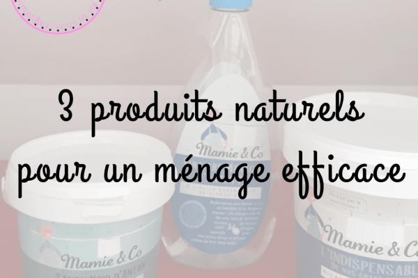 3 produits naturels pour un ménage efficace