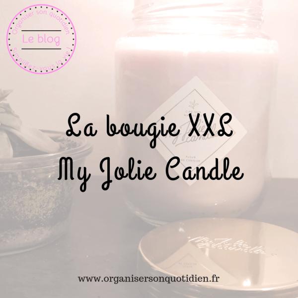 La bougie XXL de My Jolie Candle