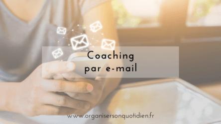 coaching par e-mail