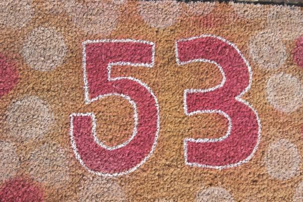 Personalise your own mat - front door