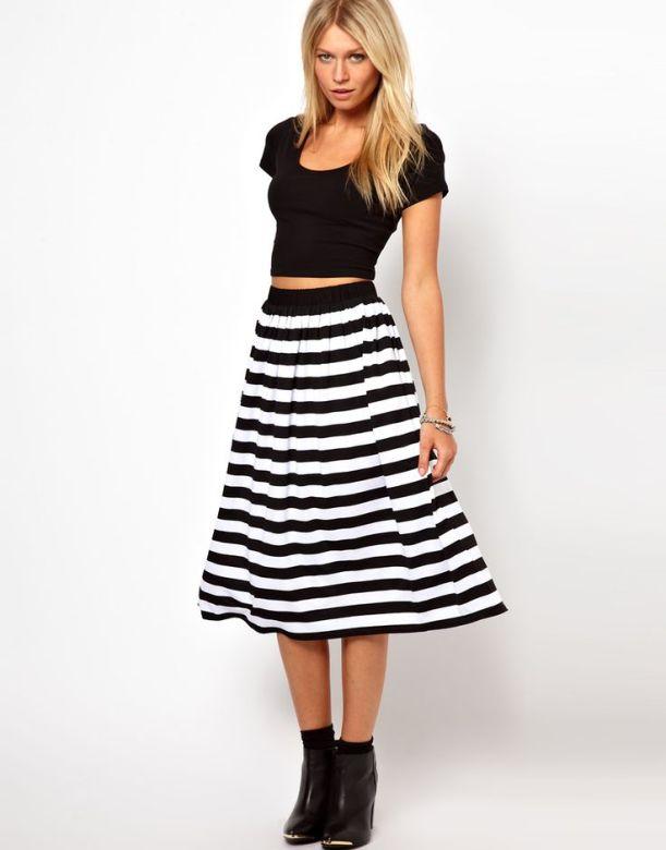 Weekly Inspiration - Stripey Skirt