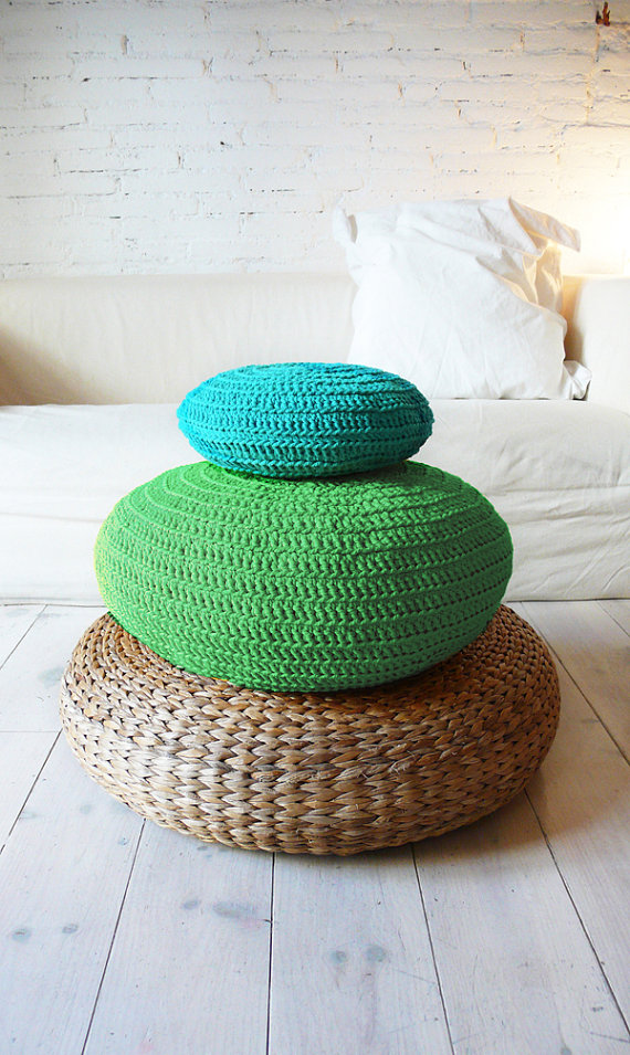 Etsy - Crochet floor cushions