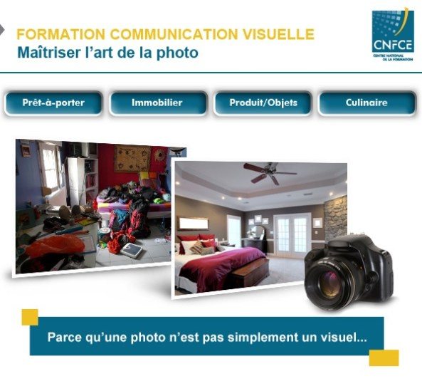 Formation communication visuelle CNFCE.