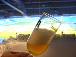 Catas de Cervezas en el Real Café con vistas al Estadio Santiago Bernabéu