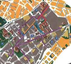 Mapa de Rutas Alcalá de Henares Gymkanas IPad