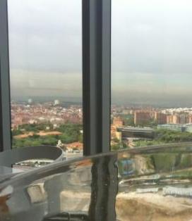 Vistas desde Torre Espacio
