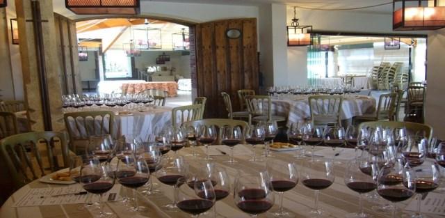 Cata de Vinos realizada en el Pabellón de Ondarreta