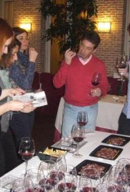 Ruleta del Paladar en el Restaurante El Casino de Alcalá de Henares