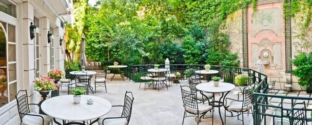 Terraza_Jardín del Hotel Orfila