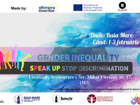 Speak YOUth STOP Discrimination Baia Mare