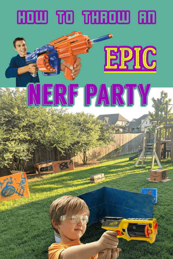 Nerf War, Birthday Party, Sleep Over Party, 8 year old Birthday #birthday #nerfwar