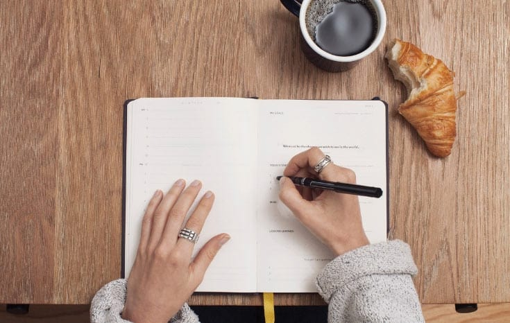 The Power Of Writing Down Your Goals