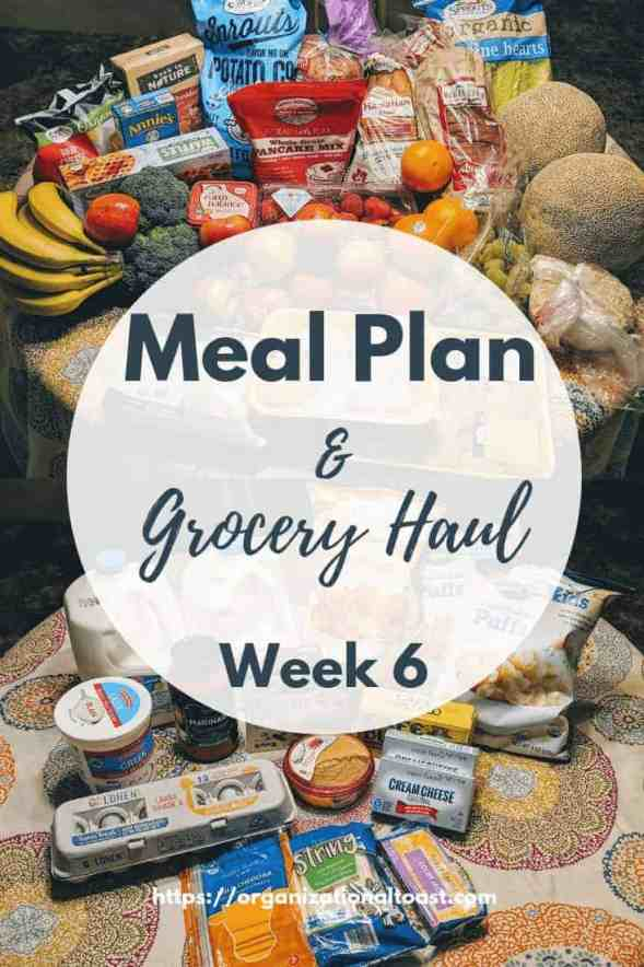 Check out our grocery haul and meal plan for our family of four. This is exactly what we buy and what we eat for the week.