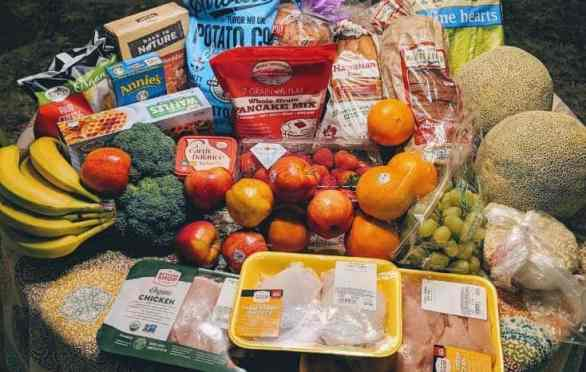 grocery haul and meal plan for a family of four | grocery shopping on a budget | sprouts grocery haul