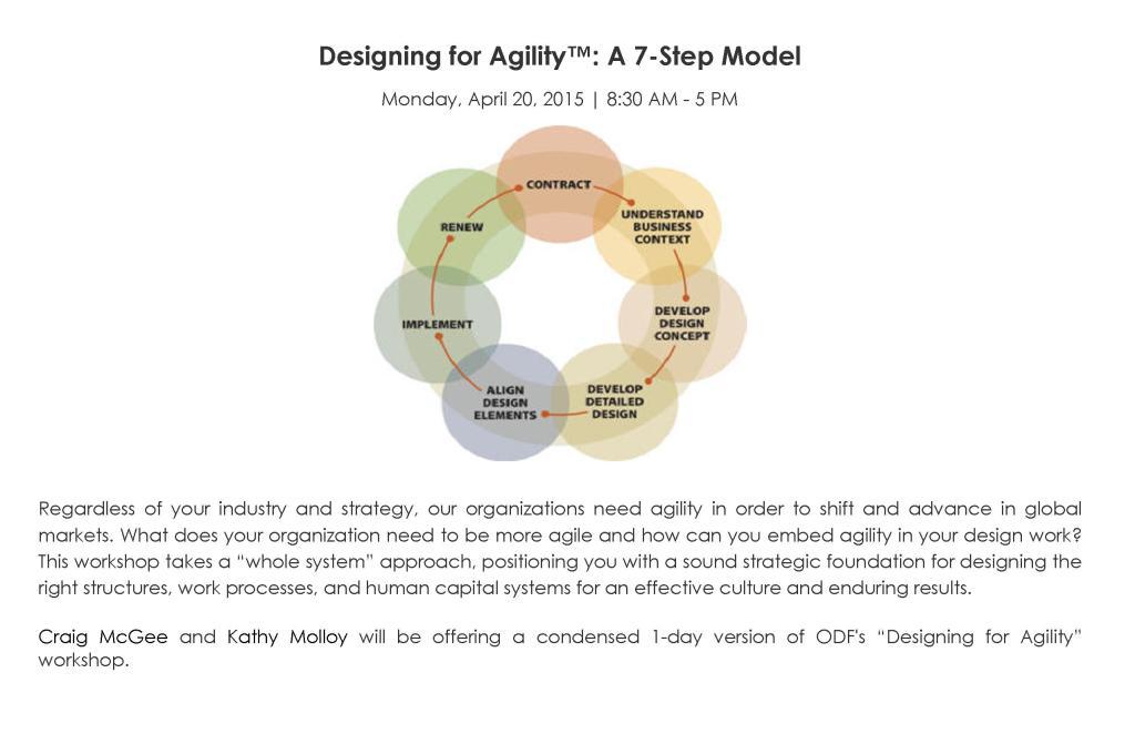 Agility Pre-Con