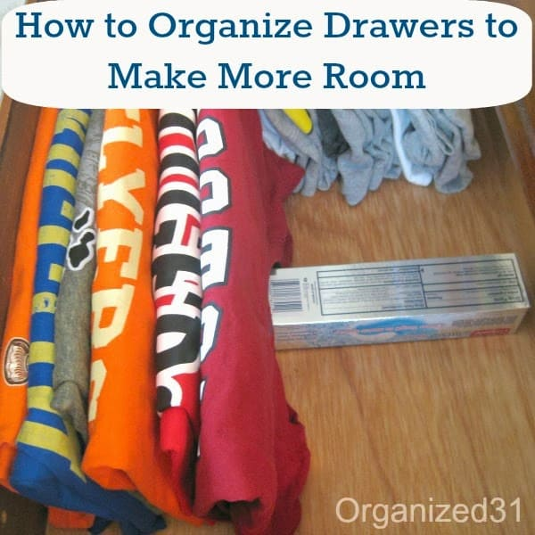 How to Organize Your Drawers to Make More Room