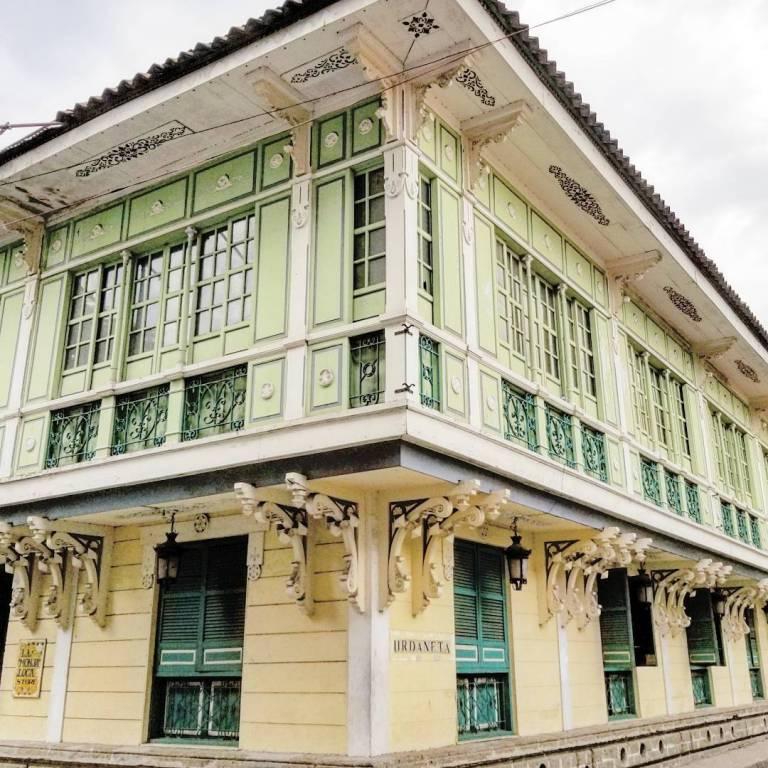 Spanish colonial architecture in Intramuros Manila Philippines
