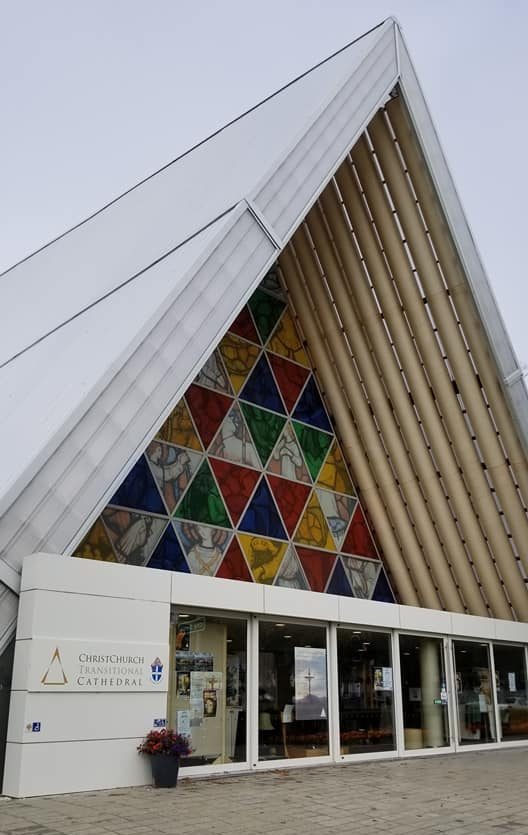 Christchurch's Cardboard Cathedral South Island New Zealand