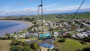 View of Stanley from The Nut Tasmania Australia