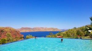 Lake Argyle Infinity Pool Kimberley Western Australia