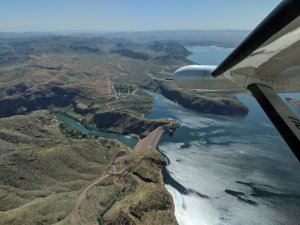 Lake Argyle and the Ord River Dam