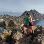 Views over Padar Island Komodo National Park Indonesia