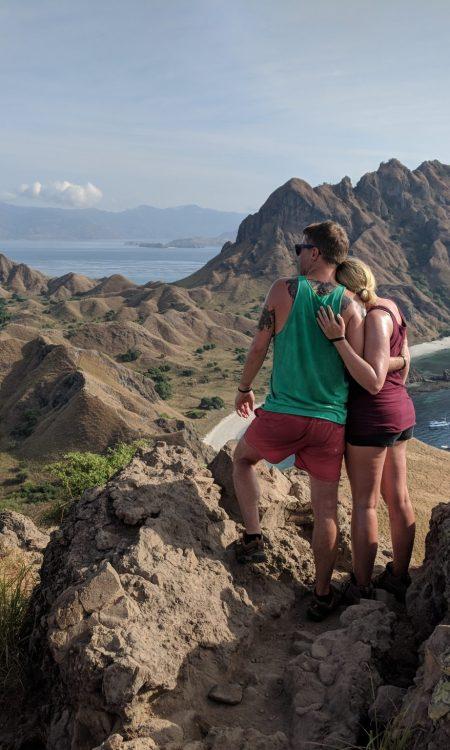 Views over Padar Island Komodo National Park Indonesia