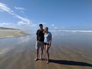 Ninety Mile Beach Cape Reinga New Zealand