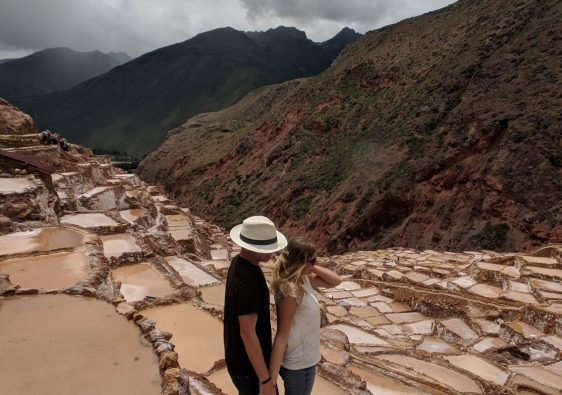 Maras salt pools near Cusco, Peru
