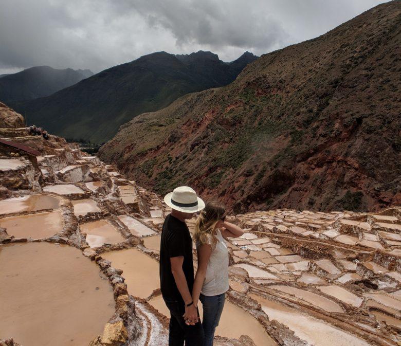 Maras salt pools near Cusco, Peru