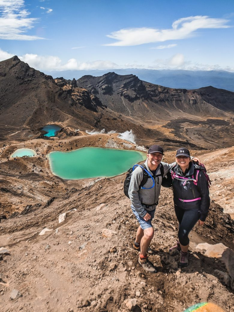 Hiking the Tongariro Crossing on the North Island
