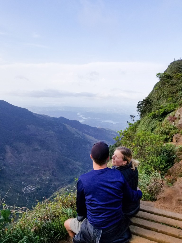 View of the World's End in Horton Plains National Park