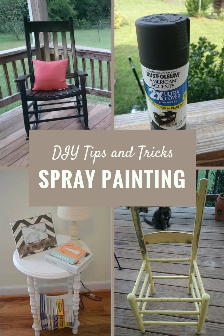 Diy Tips And Tricks Spray Painting Furniture Organized