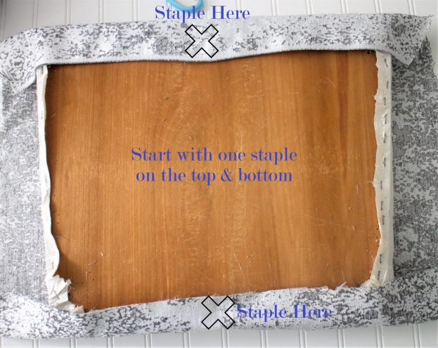 staple seat cushion