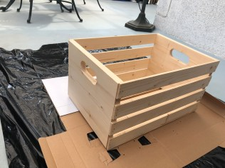 before crate 1