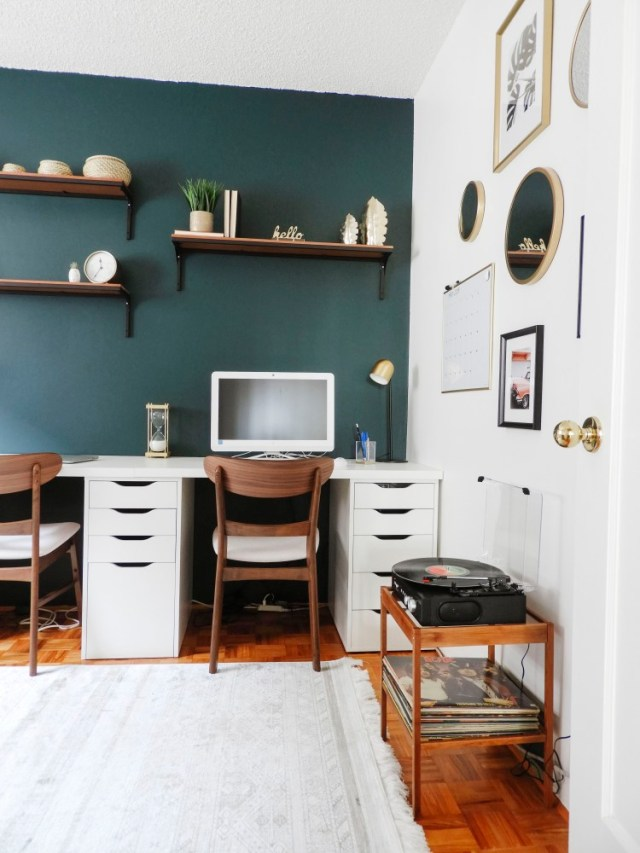 IKEA Side Table Hack After