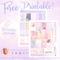 Free Planner Printable: Sailor Moon