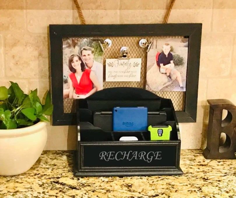 DIY Cheap, Stylish Charging Station