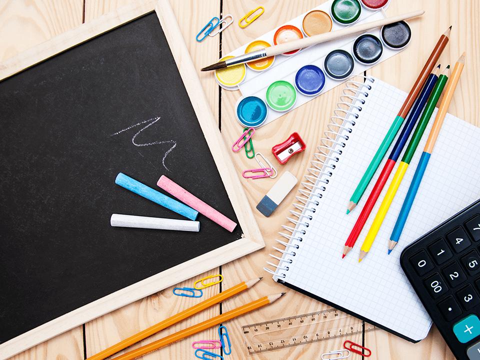 Preste atenção a lista de material escolar