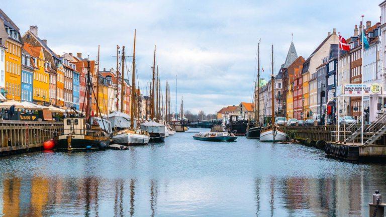 デンマークの幸福度のイメージ