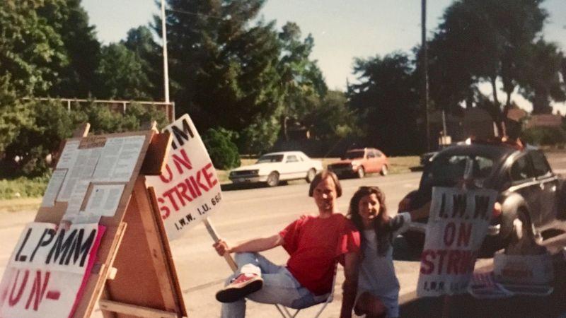 MiniMart strike, Seattle, 1996   Image courtesy Jessica S