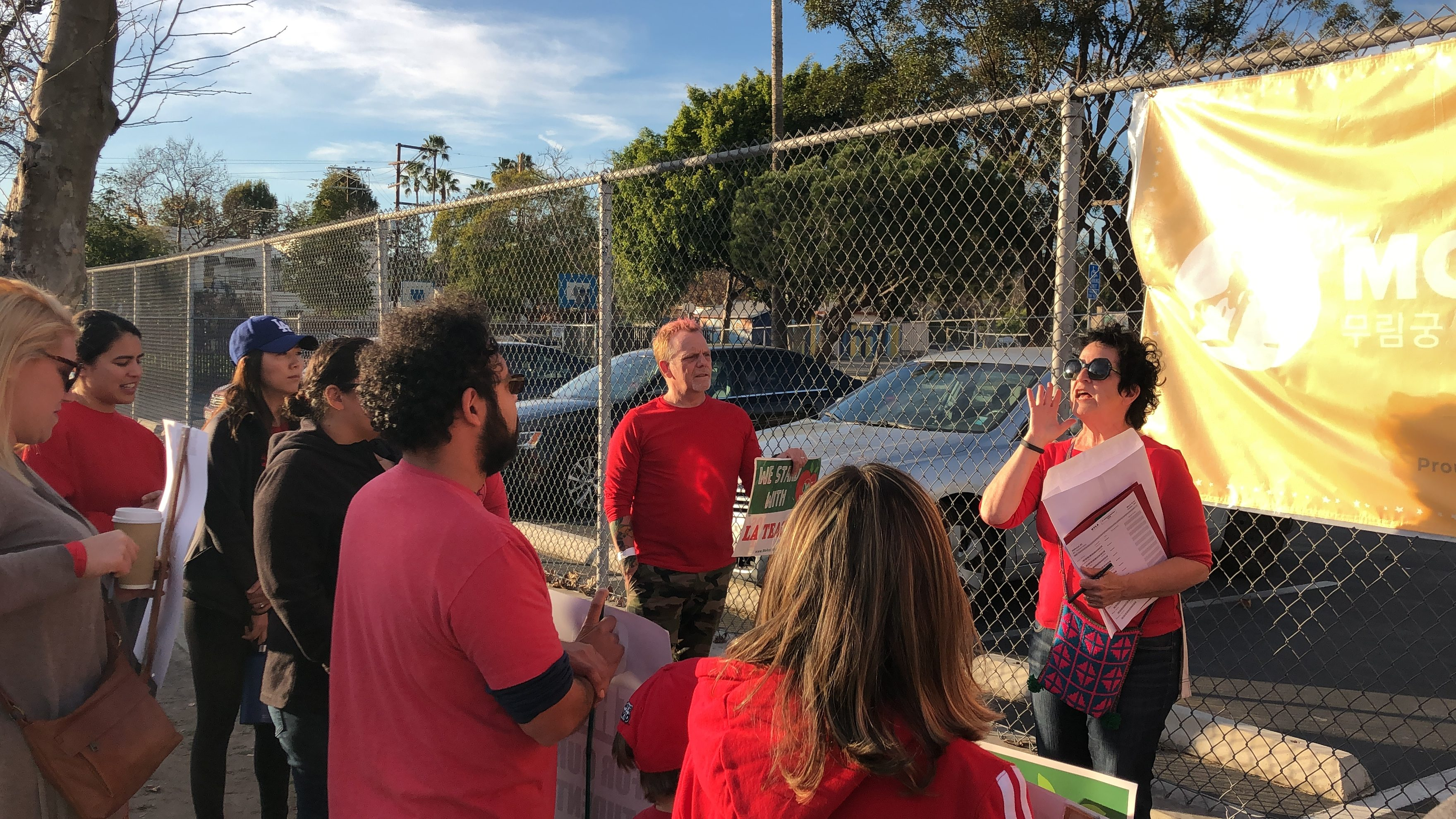 """It's Up To Us"": A reflection on the LAUSD strike and contract with teacher Tammy Matz"
