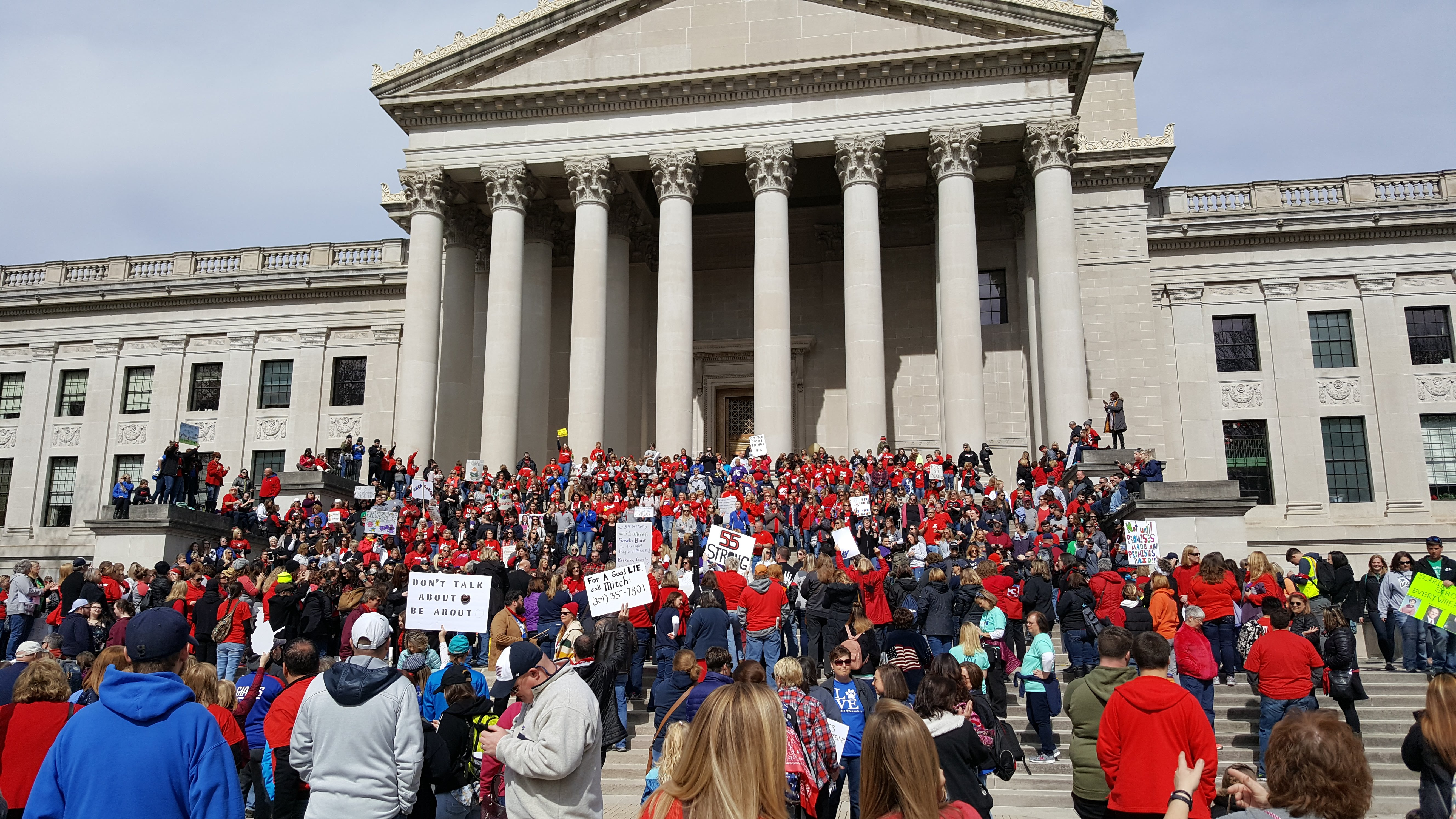 How West Virginia teachers defied the state—and their unions