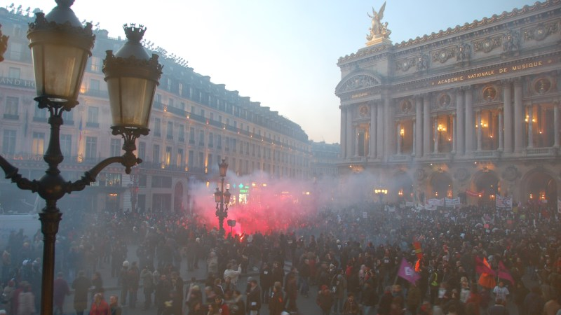French General Strike, January 29, 2009 | Tim Lam, Flickr