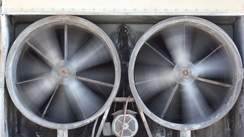 HVAC ventilation exhaust by PictorialEvidence, 2011   Wikimedia Commons