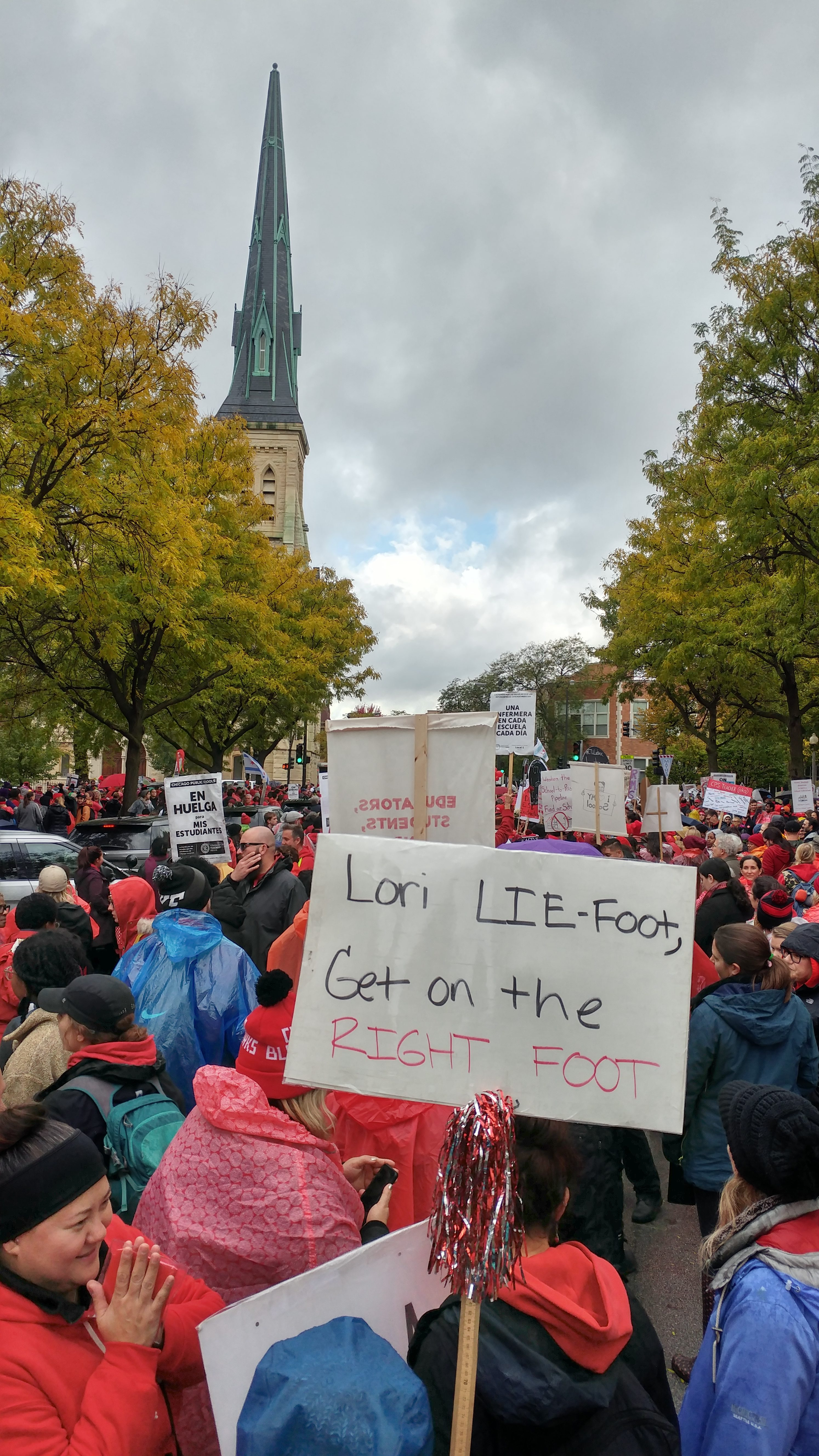Fighting with a purpose: interview with a Special Education Classroom Assistant on strike in Chicago