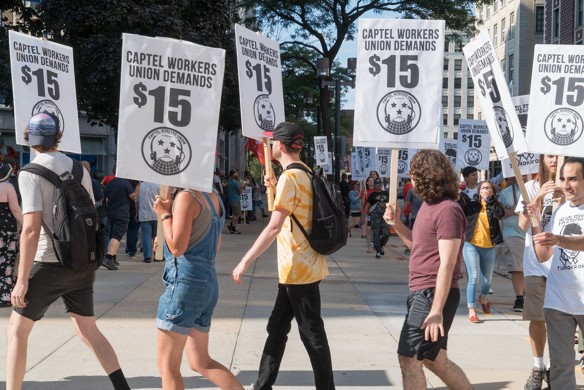 Overburdened by the COVID-19 crisis, call center workers take action (UPDATED)