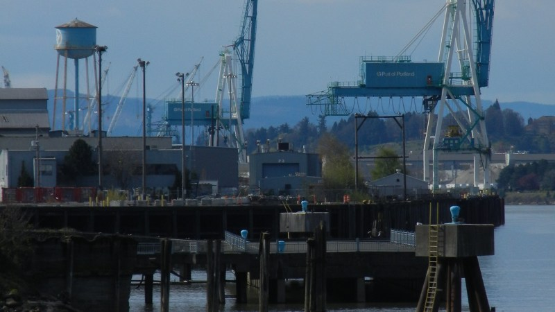 Port of Portland cranes, 2011 by SoulRider.222 | Flickr