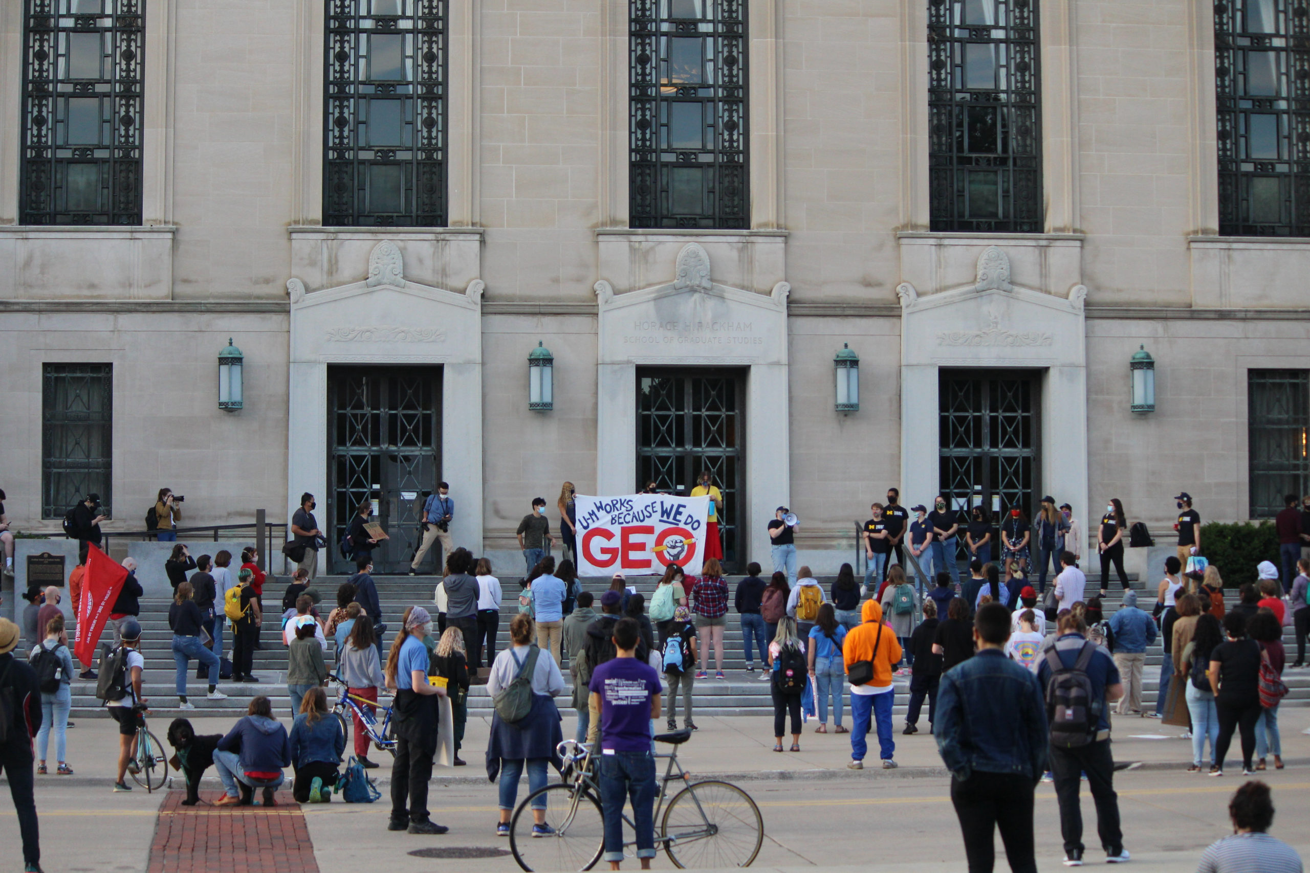 How Graduate Students Organized Their Recent Strike in Michigan