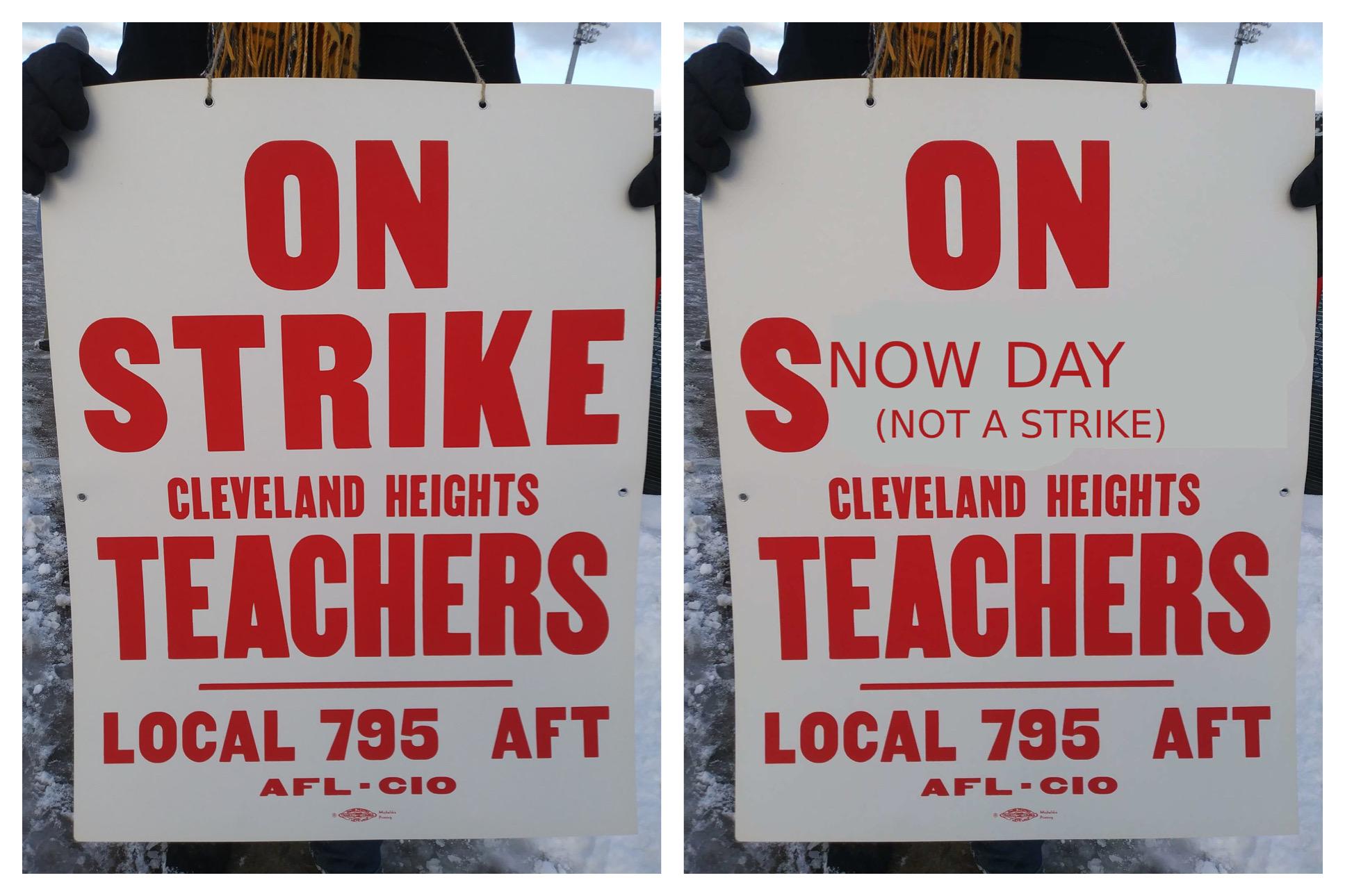 When Cleveland area teachers got paid to strike